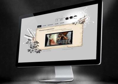 Strona internetowa Mirage