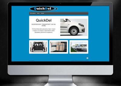 Strona internetowa QuickDel