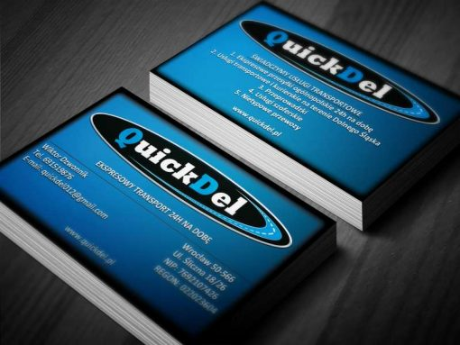 Wizytówki QuickDel