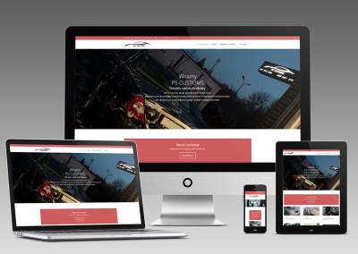 Nowa strona internetowa PS Customs
