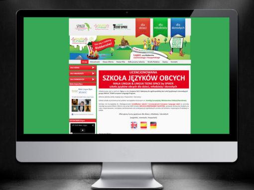 Strona Internetowa Szkoły Językowej