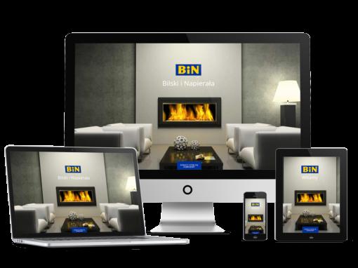 Strona internetowa firmy budowlanej – remontowej
