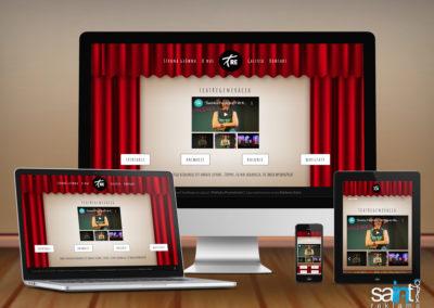 Strona Internetowa Grupy Teatralnej